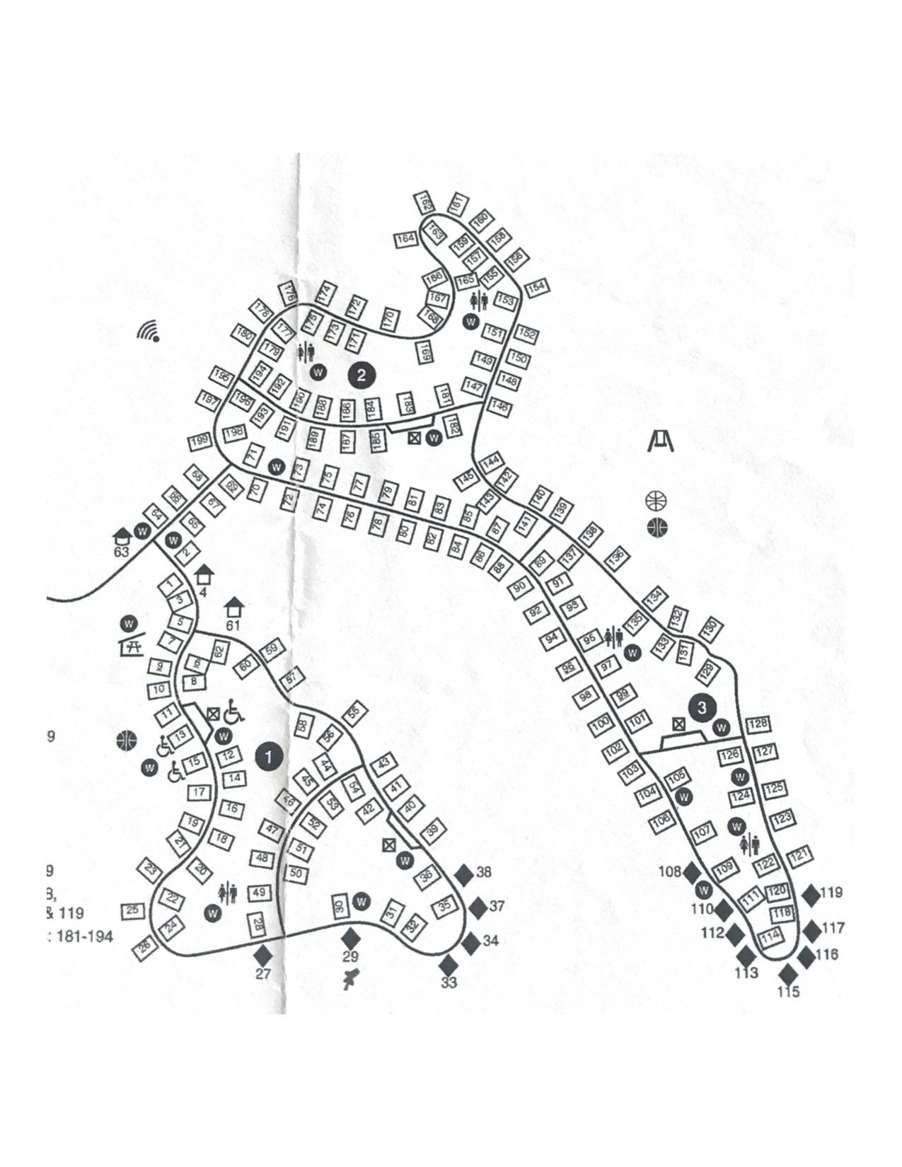 paint creek map